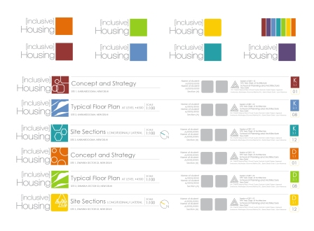 semester identity: colours, fonts an style
