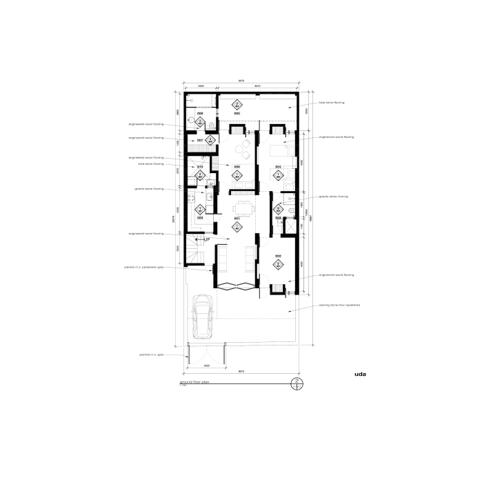 floor plan, project I