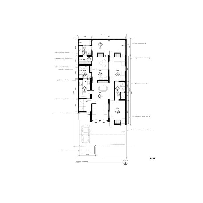 floor plan, project I