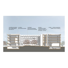 layout from presentation booklet, project III