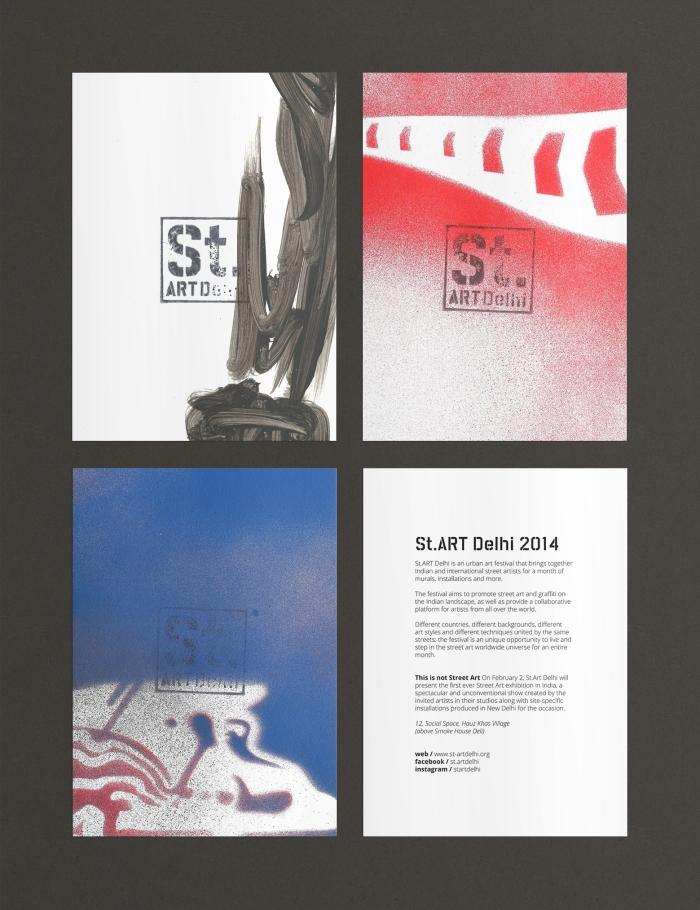 St.ART Delhi cards by DD